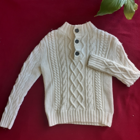 GAP Other - Gap Kids cable knit sweater size S